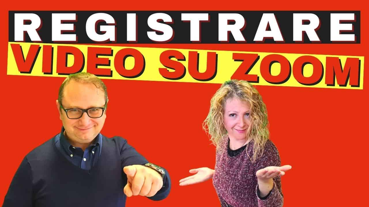 Zoom registrazione come e chi può registrare video su Zoom