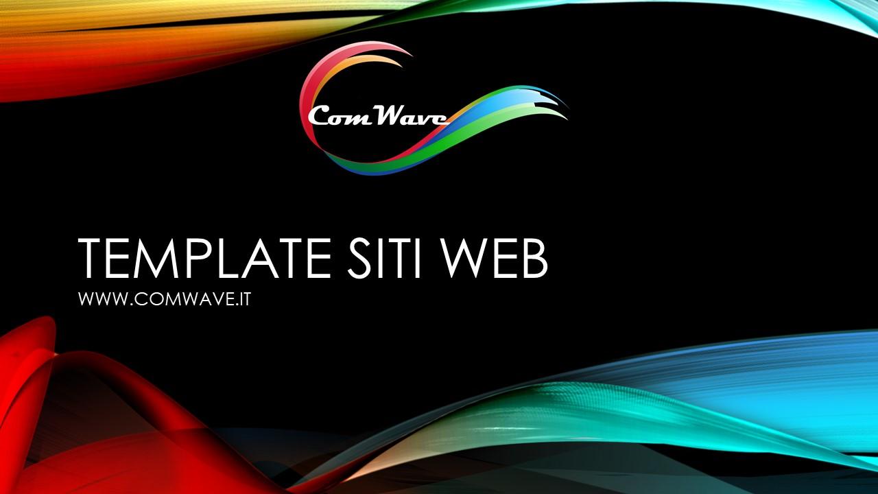 template siti web
