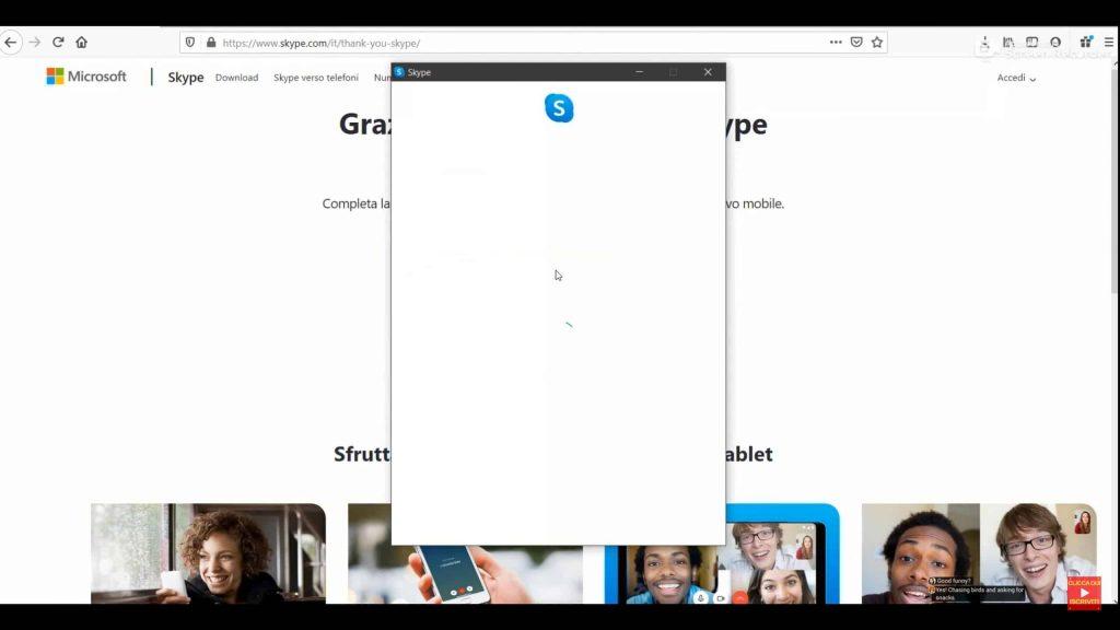 Videochiamata Skype Skype su Pc: Come si usa skype dal pc o desktop