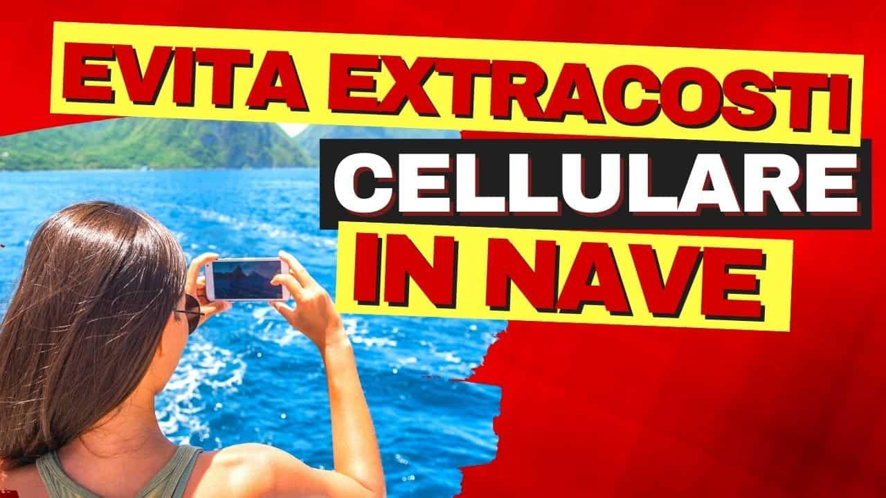 Sul Traghetto prende il cellulare Internet in nave