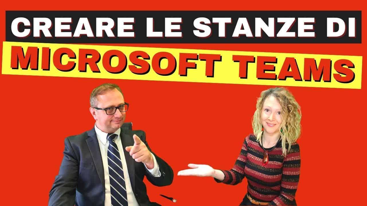 Canali Microsoft Teams stanza virtuale Gruppi o breakout rooms