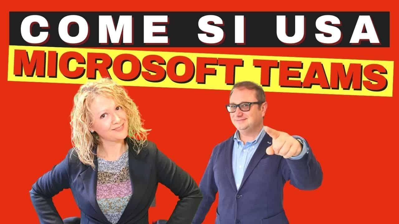 Come funziona Microsoft Teams come creare una riunione