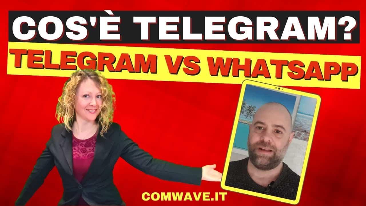 Telegram come funziona Differenza tra Telegram e Whatsapp