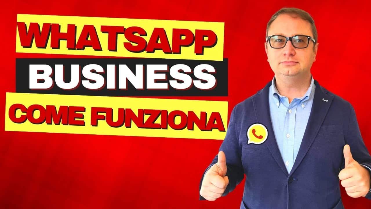 cos'è WhatsApp business come funziona