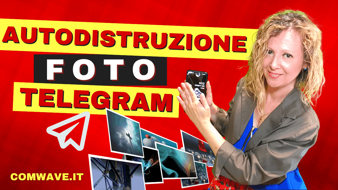 Come fare foto autodistruzione Telegram in chat segreta